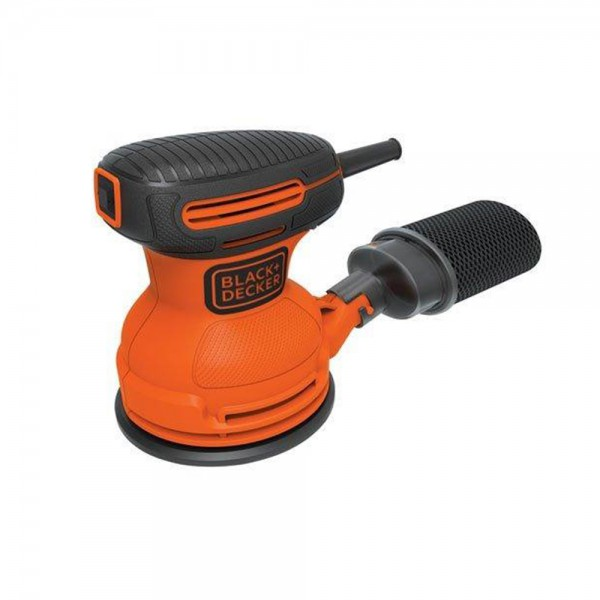 LIJADORA ROTO ORBITAL 127MM 180W 12000 OPM BLACK+DECKER | BDERO100