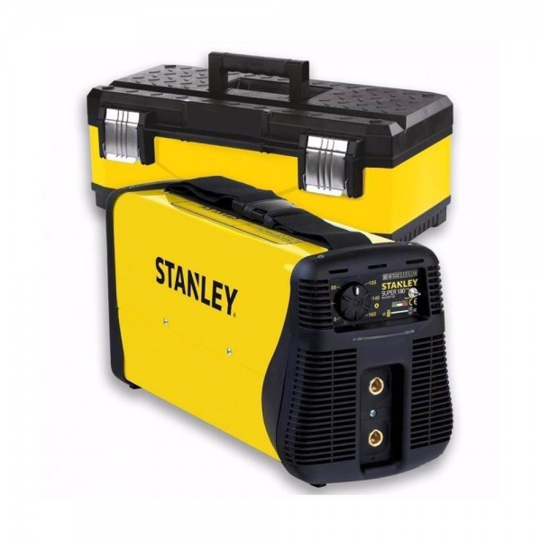 SOLDADORA INVERTER TIG 160A 1.6-4MM ACC. MMA SUPERTIGLIFT180 STANLEY | 64180